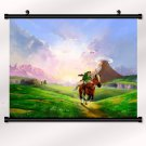 The Legend Of Zelda 25th Anniversary Poster With Wall Scroll Decor