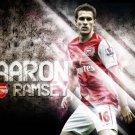 Aaron Ramsey Football Star Art 32x24 Poster Decor