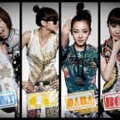 2NE1 K Pop Art 32x24 Poster Decor