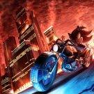 Shadow The Hedgehog Game Art 32x24 Poster Decor