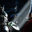 Superman Vs Batman 2015 Movie Art 32x24 Poster Decor