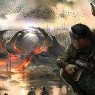 Stalker Game Art 32x24 Poster Decor