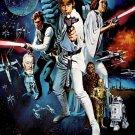 Star Wars The Force Awakens Art 32x24 Poster Decor