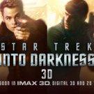 Star Trek Into Darkness Movie Art 32x24 Poster Decor