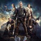 Vikings TV Show Art 32x24 Poster Decor