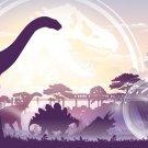 Jurassic World Dinosaur Moster Art 32x24 Poster Decor