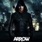 Green Arrow TV Show Art 32x24 Poster Decor