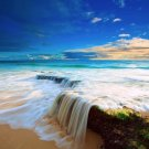 Landscape Nature Sea Ocean Art 32x24 Poster Decor