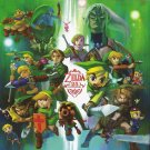 The Legend Of Zelda 25th Art 32x24 Poster Decor