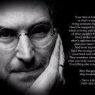 Steve Jobs Art 32x24 Poster Decor