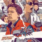 Back To The Future DMC 12 Car Art 32x24 Poster Decor