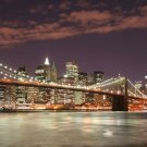 New York NY City Landscape Art 32x24 Poster Decor