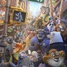 Zootopia Anime Movie Art 32x24 Poster Decor