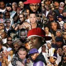 Rap Gods Rapper Collage Art 32x24 Poster Decor