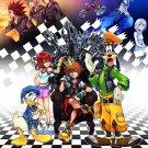 Kingdom Hearts Boy 1 2 Game Art 32x24 Poster Decor