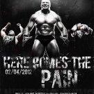 Brock Lesnar Art 32x24 Poster Decor