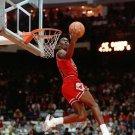 Michael Jordan Basketball Star Art 32x24 Poster Decor
