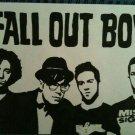 Fall Out Boy Rock Band Art 32x24 Poster Decor
