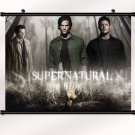 Supernatural Poster With Wall Scroll Decor