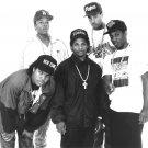 NWA Ice Cube Gangsta Rap Star Art 32x24 Poster Decor