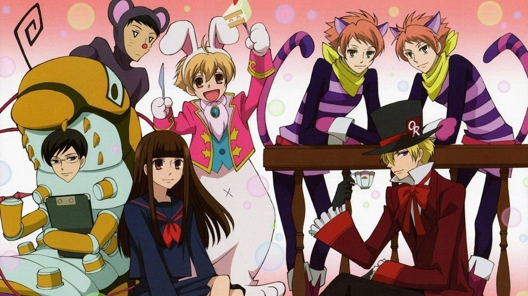 Ouran High School Host Club Anime Wall Print POSTER Decor 32x24