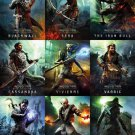 Dragon Age Inquisition Characters Wall Print POSTER Decor 32x24