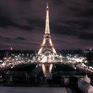 Eiffel Tower Landscape Paris City Wall Print POSTER Decor 32x24