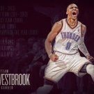 Russell Westbrook Basketball Star Wall Print POSTER Decor 32x24