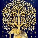 Elephant Mandala Tree Wall Print POSTER Decor 32x24
