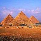 Sunset Egypt Pyramids Wall Print POSTER Decor 32x24