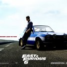 Fast Furious 6 Movie Wall Print Poster Decor 32x24