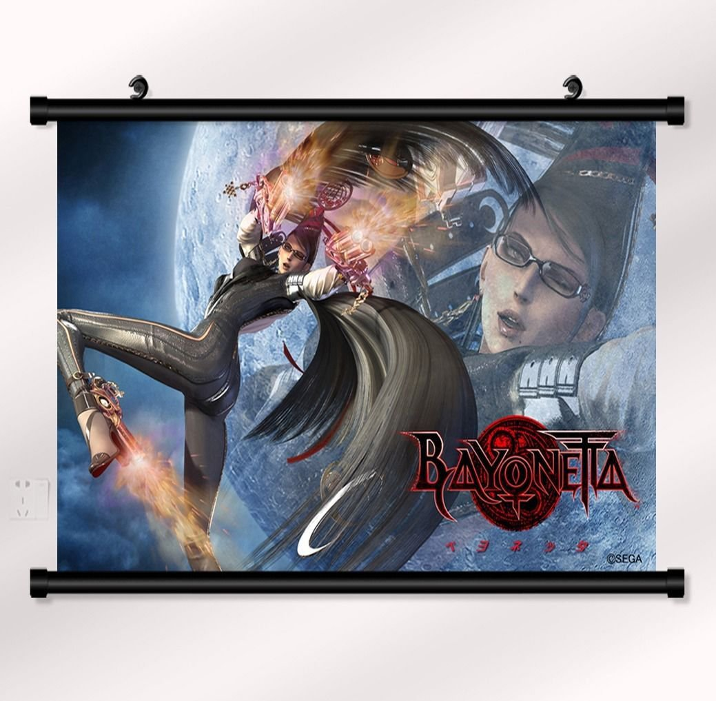 Bayonetta 1 2 Game Wall Print POSTER Decor 32x24