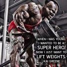 Bodybuilding Fitness Motivation Motivational Wall Print POSTER Decor 32x24