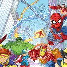 Super Hero Squad Game Wall Print POSTER Decor 32x24