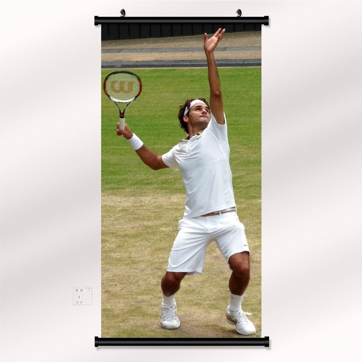 Roger Federer Tennis Star Wall Print POSTER Decor 32x24