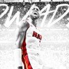 Dwyane Wade Basketball Star Wall Print POSTER Decor 32x24