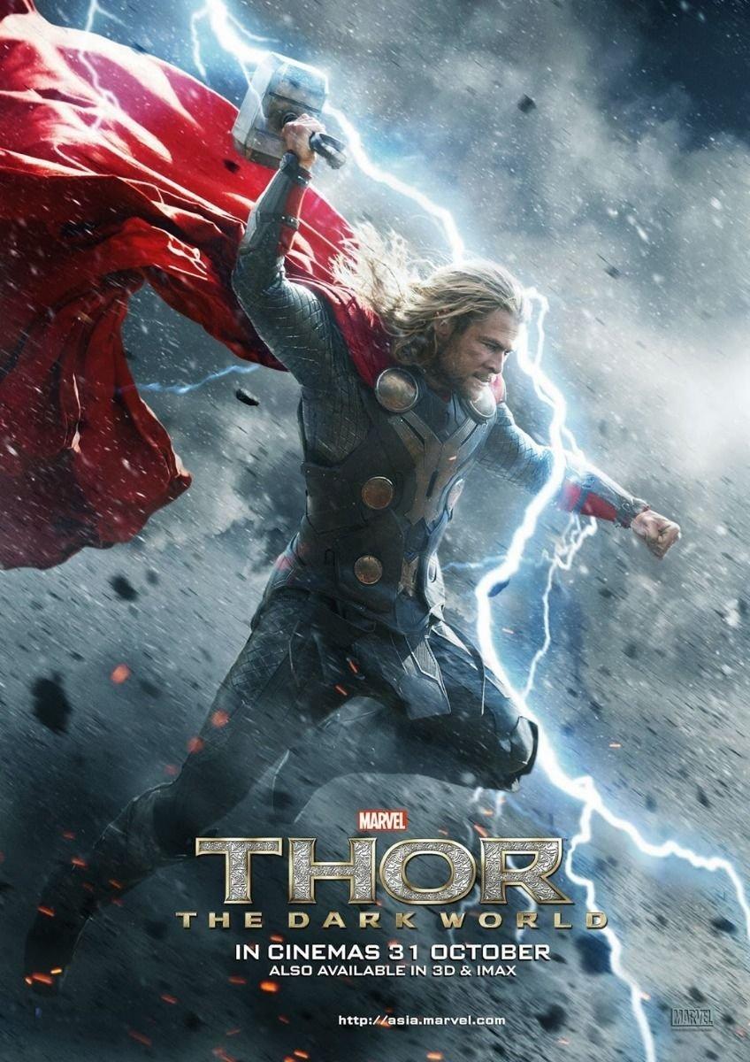 Thor 1 2 The Dark World Movie Wall Print POSTER Decor 32x24