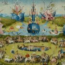 The Garden Of Earthly Delights Hieronymus Bosch Wall Print Poster Decor 32x24