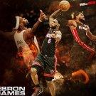 Lebron James Basketball Star Wall Print POSTER Decor 32x24