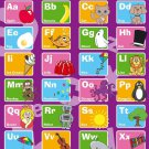 My ABC Alphabet Learn Table Wall Print POSTER Decor 32x24