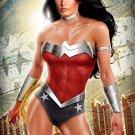 Art Design Girl Wonder Woman Wall Print POSTER Decor 32x24