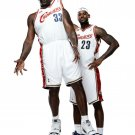 Shaquille O Neal Lebron James Basketball Star Wall Print POSTER Decor 32x24