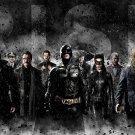 The Dark Knight Rises Batman MOVIE Wall Print POSTER Decor 32x24