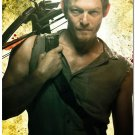 The Walking Dead New Season TV Show Art Poster Daryl 32x24