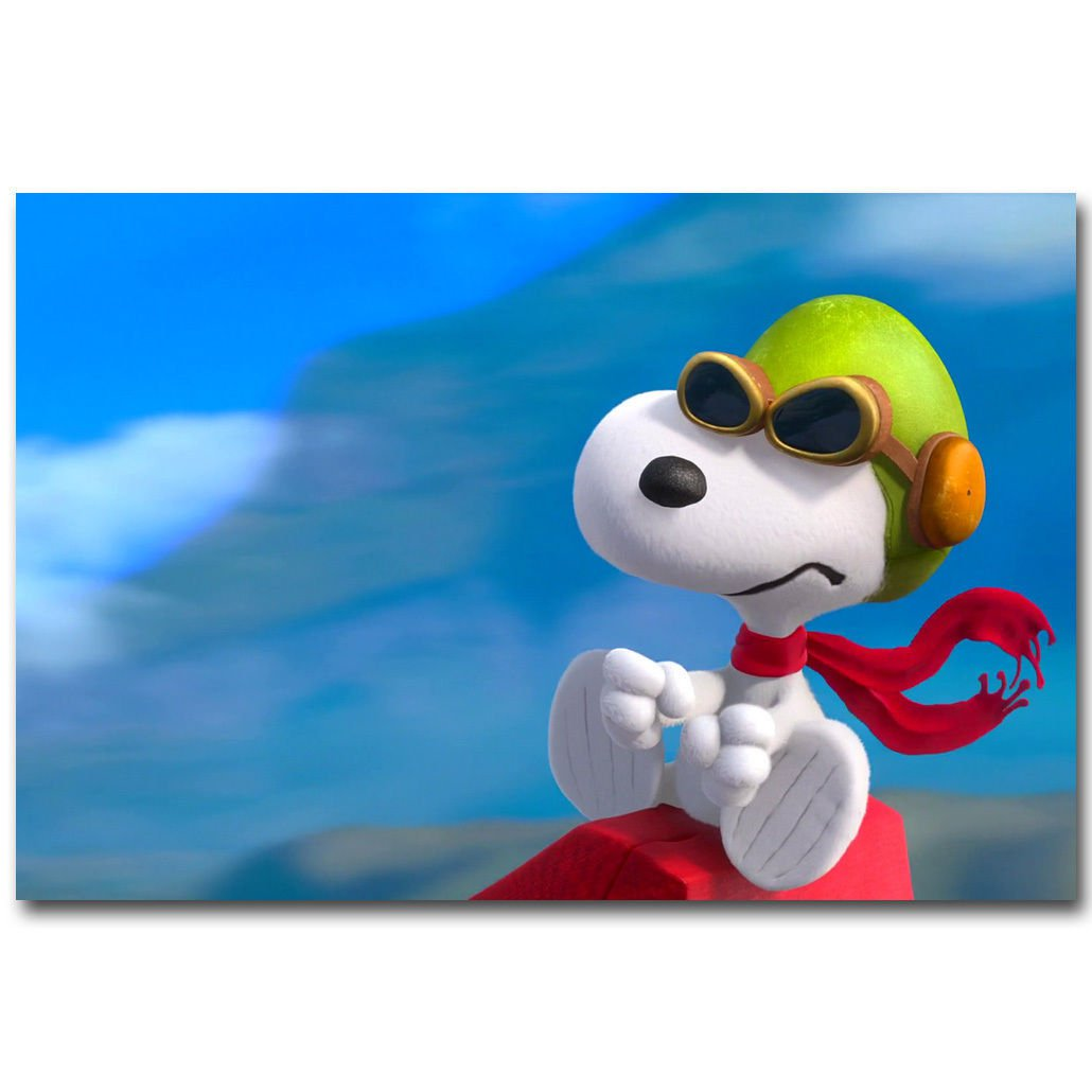The Peanuts Snoopy Movie Art Poster 32x24