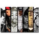 Wiz Khalifa Hot Rap Music Star Art Poster 32x24