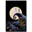 The Nightmare Before Christmas Tim Burton Movie Poster 32x24