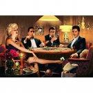 Marilyn Monroe James Dean Elvis Presley Humphrey Bogart Playing Card Poster 32x2