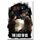 The Last Of Us Game Art Poster Ellie Joel 32x24