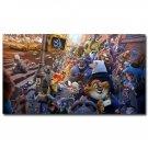 Zootopia Cartoon Movie Poster Judy Hopps Nick Wilde 32x24